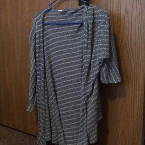 LulaRoe hi-lo sweater